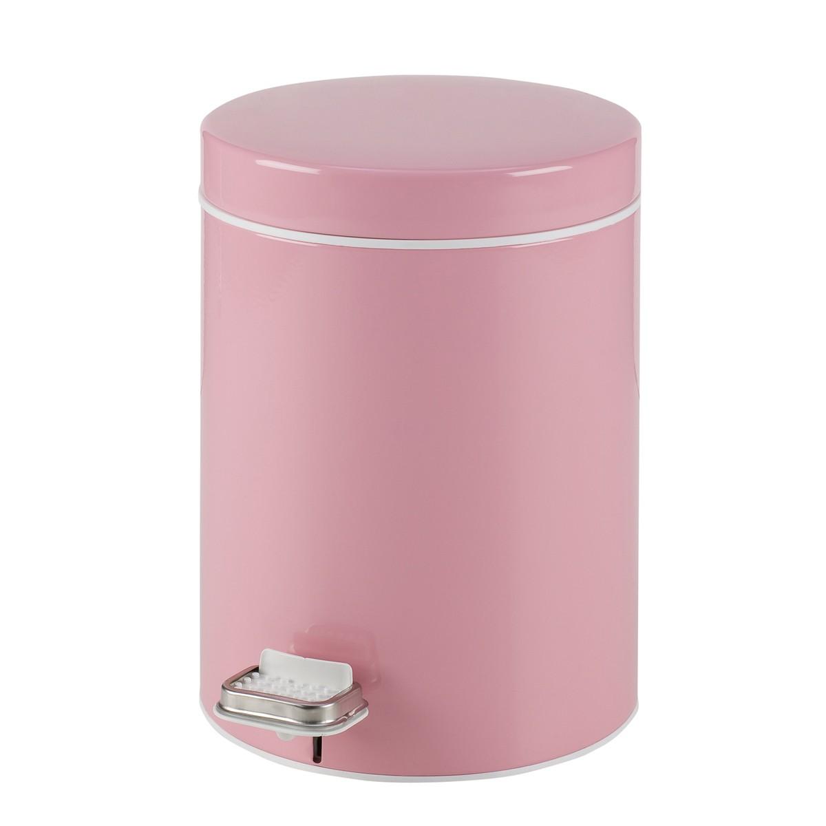Κάδος Απορριμάτων (20×28) PamCo 5Lit 95 Pink