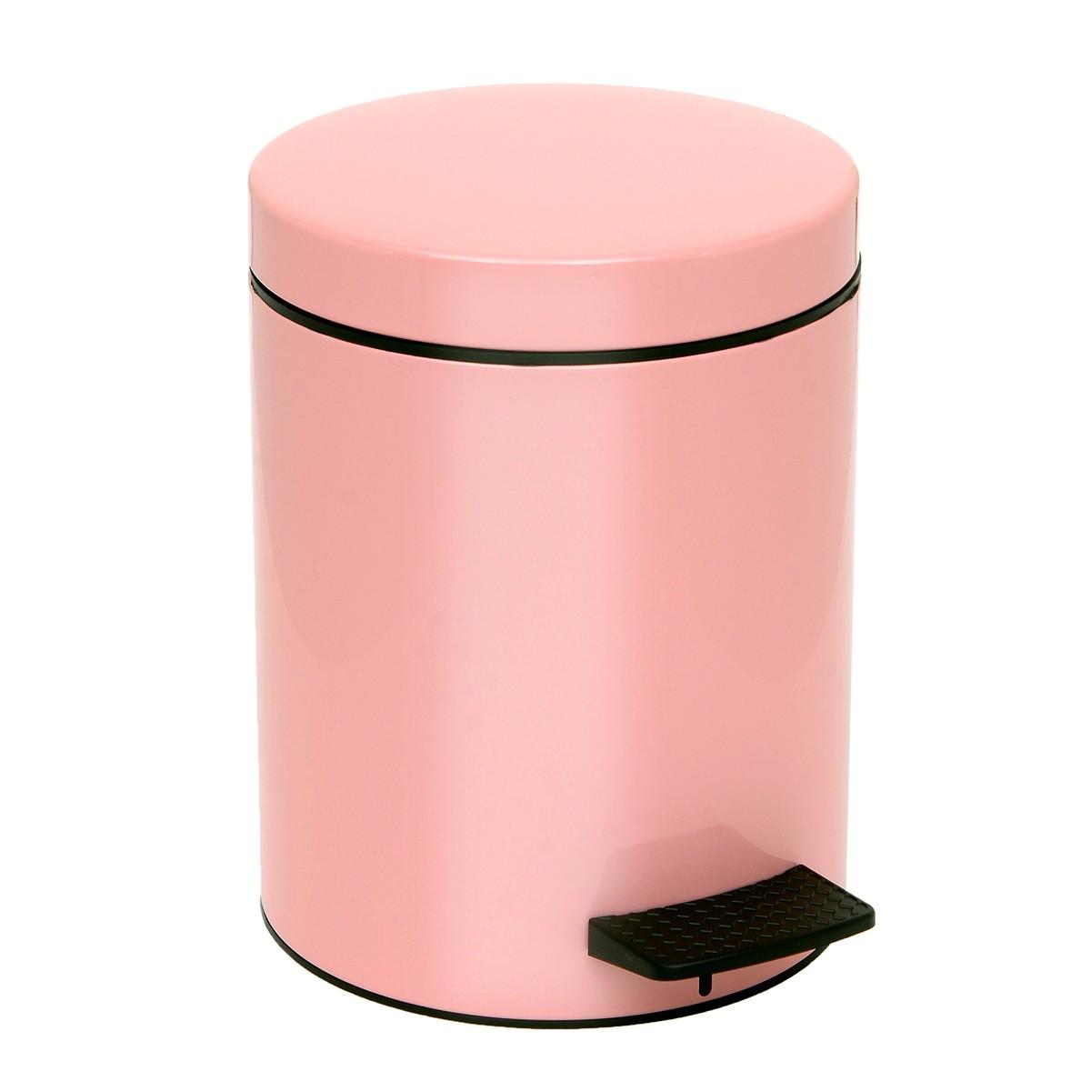 Κάδος Απορριμάτων (20x28) PamCo 5Lit 96 Pink