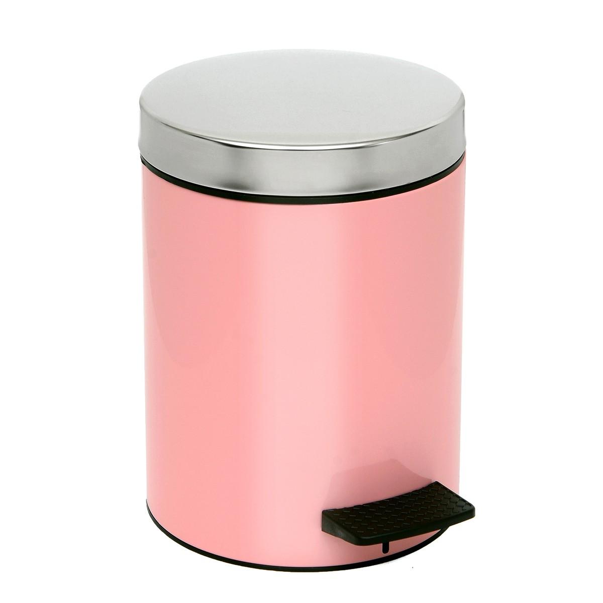 Κάδος Απορριμάτων (20x28) PamCo 5Lit 126 Pink