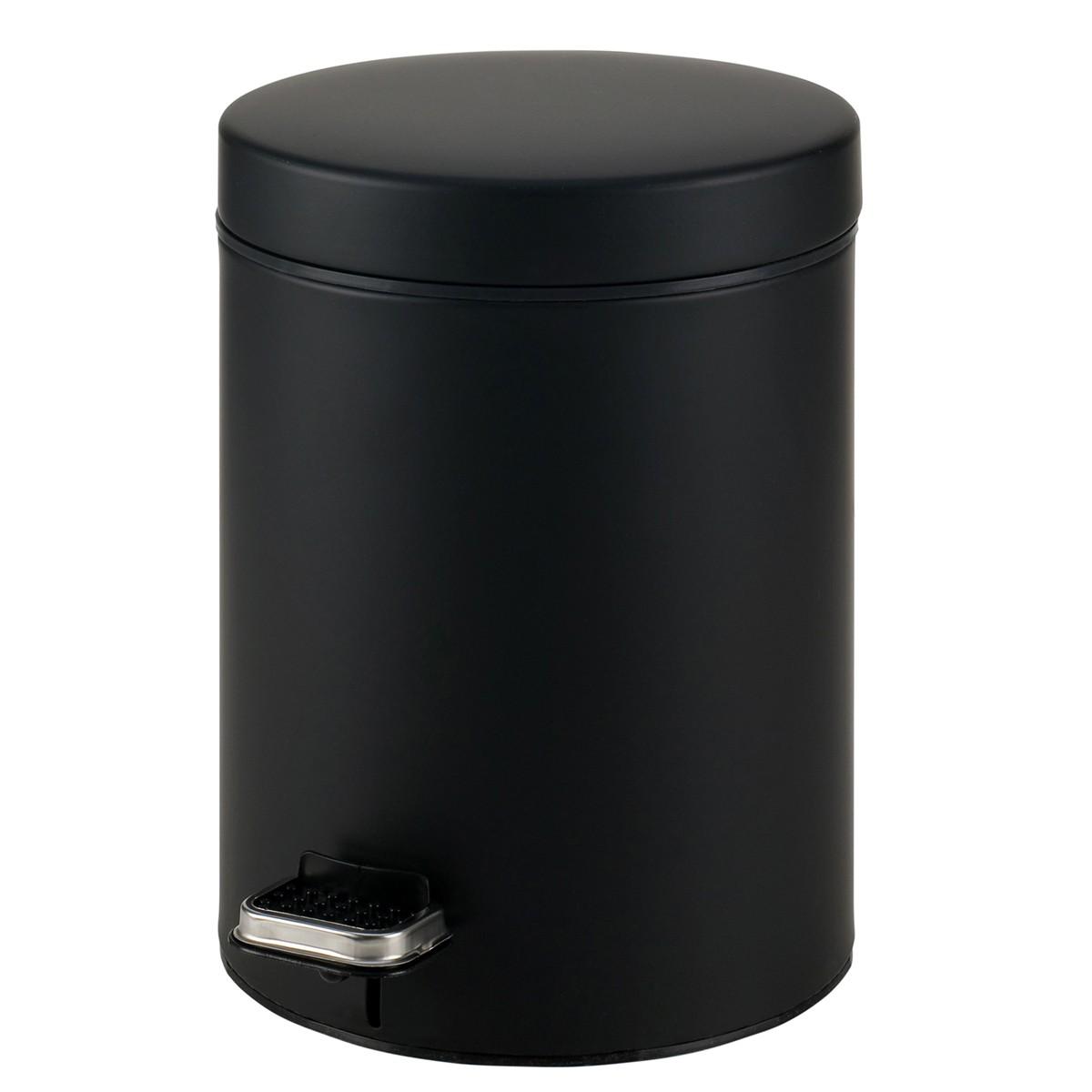 Κάδος Απορριμάτων (23×32) PamCo 8Lit 500 Black Matte