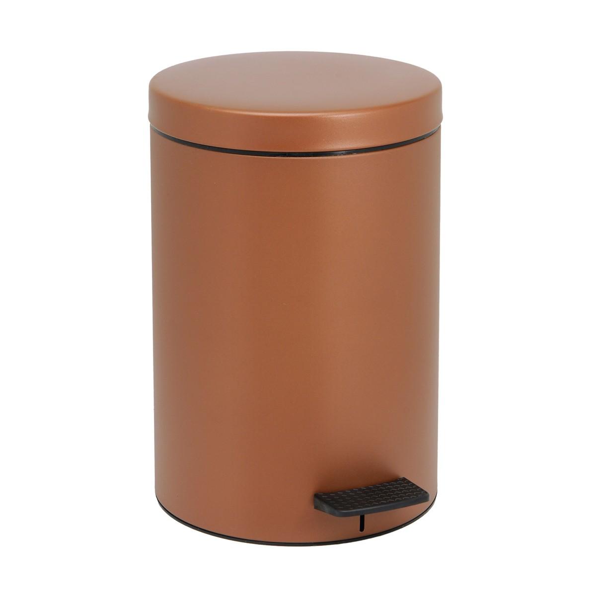 Κάδος Απορριμάτων (25×40) PamCo 12Lit 90 Brown Matte 65276