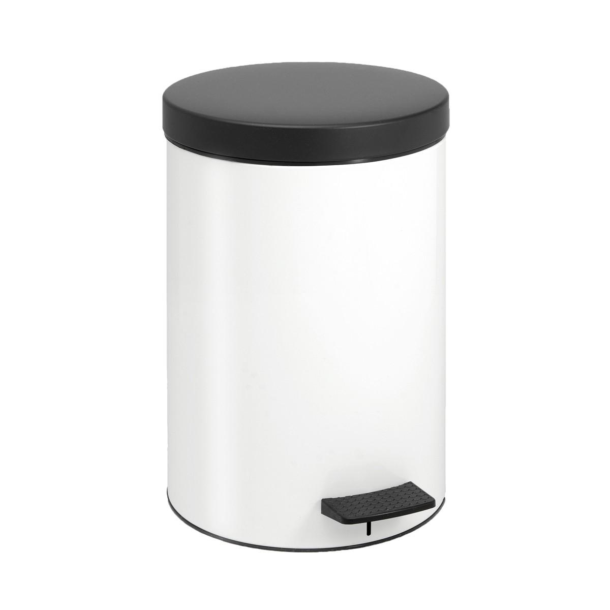 Κάδος Απορριμάτων (25×40) PamCo 12Lit 97 White