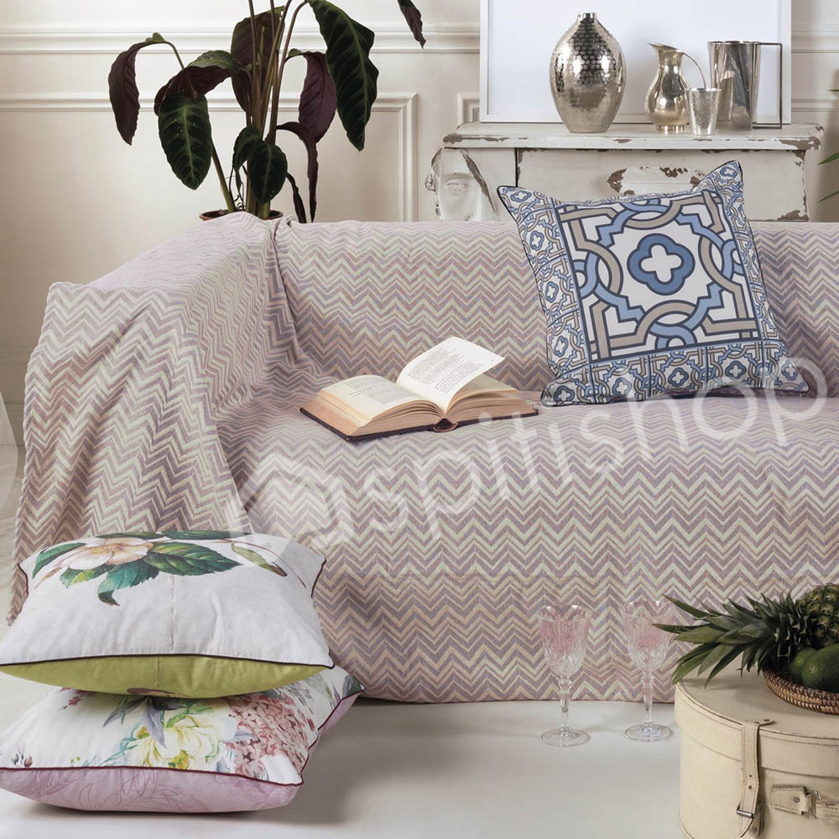 Ριχτάρια (Σετ 3τμχ) Kentia Home Made Miramar 35