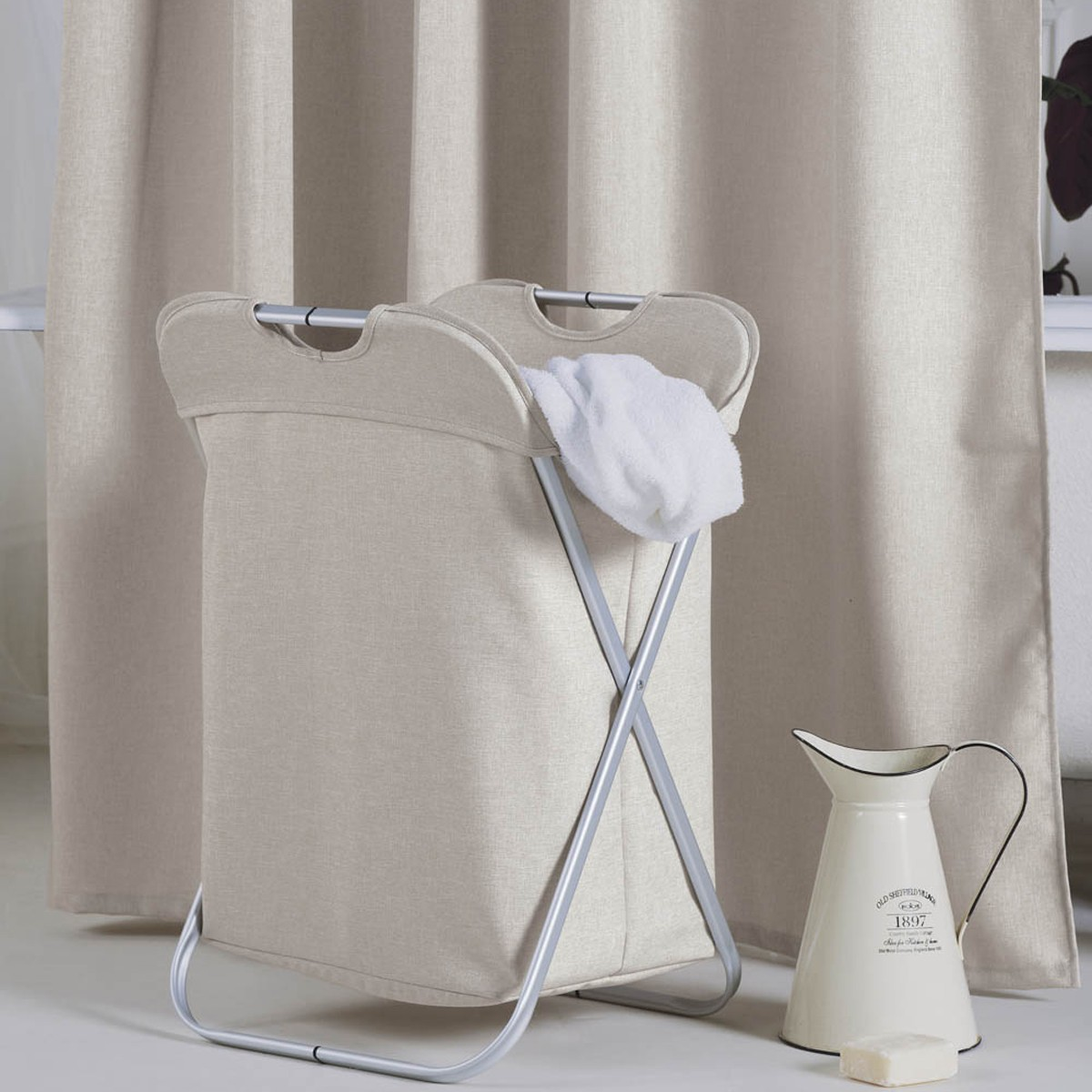 Κουρτίνα Μπάνιου (180x200) Kentia Bath Linus 26