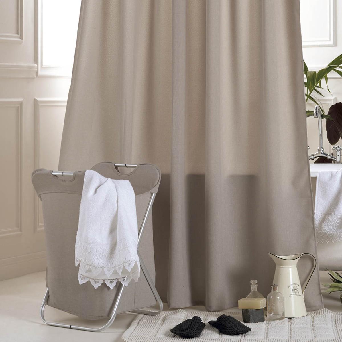 Κουρτίνα Μπάνιου (180x200) Kentia Bath Linus 12