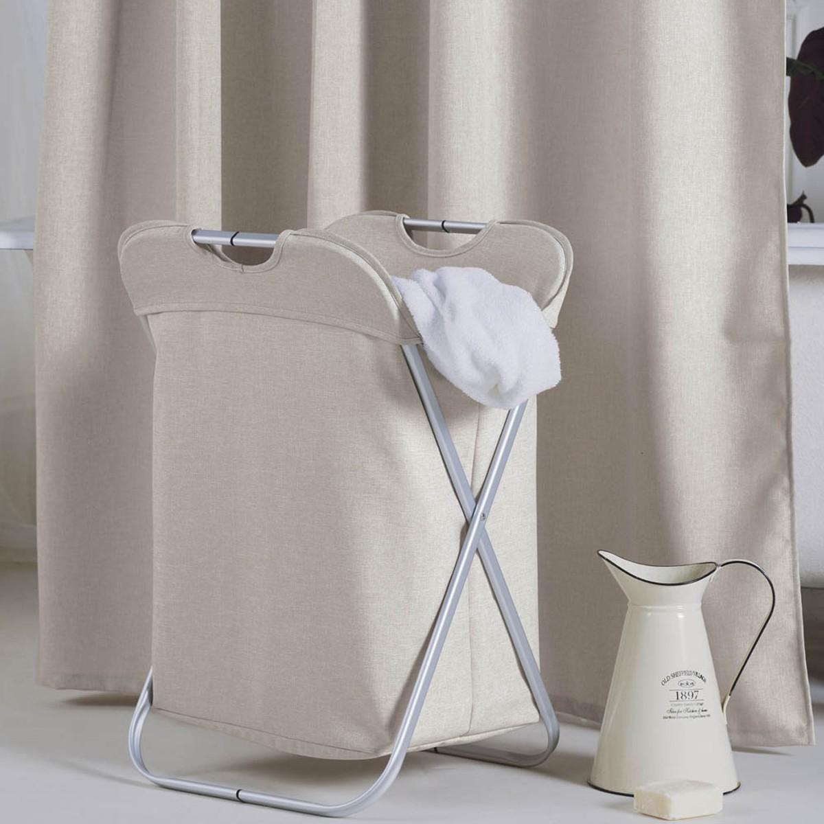 Καλάθι Απλύτων (37x39x60) Kentia Bath Linus 26 home   μπάνιο   καλάθια απλύτων