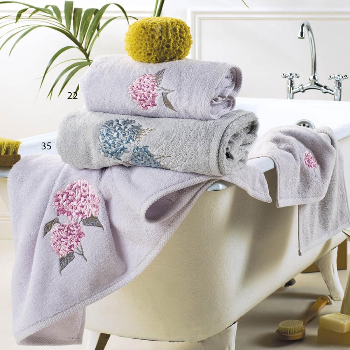 Πετσέτες Μπάνιου (Σετ 3τμχ) Kentia Bath Ortansia