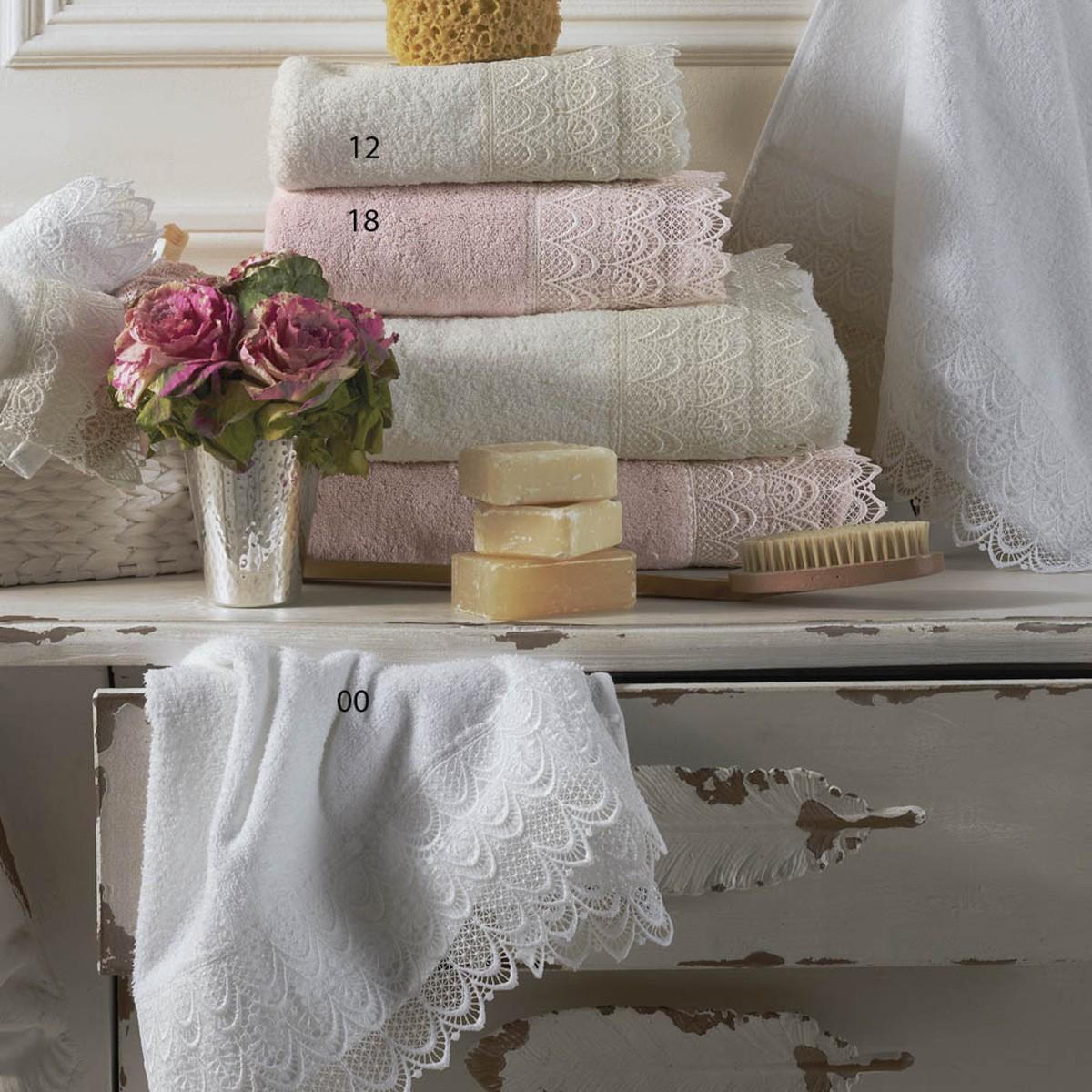 Πετσέτες Μπάνιου (Σετ 3τμχ) Kentia Versus Ikaros