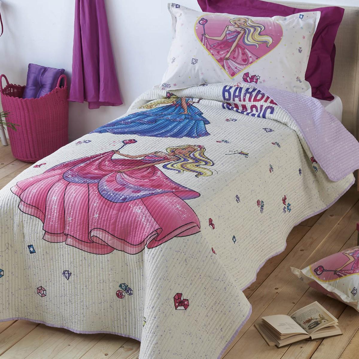 Κουβερλί Μονό Kentia Kids Barbie 518
