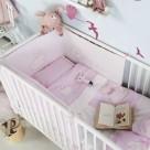 Παπλωματοθήκη Κούνιας (Σετ 4τμχ) Kentia Baby Rabbit