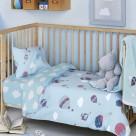 Παπλωματοθήκη Κούνιας (Σετ) Kentia Baby Vento