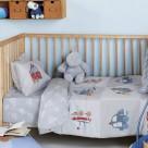 Παπλωματοθήκη Κούνιας (Σετ) Kentia Baby Vroom
