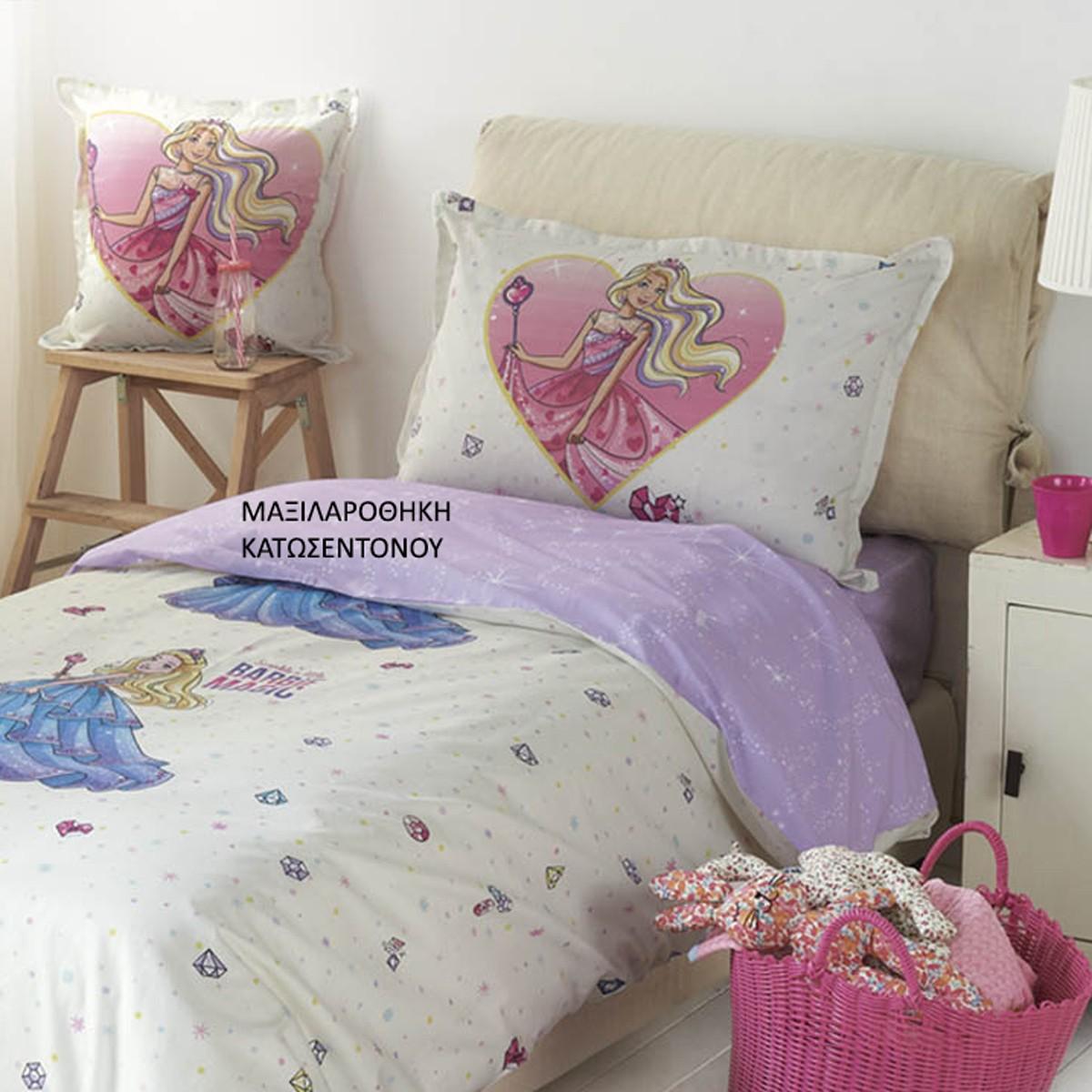 Μαξιλαροθήκη Κατωσέντονου Kentia Kids Barbie 518