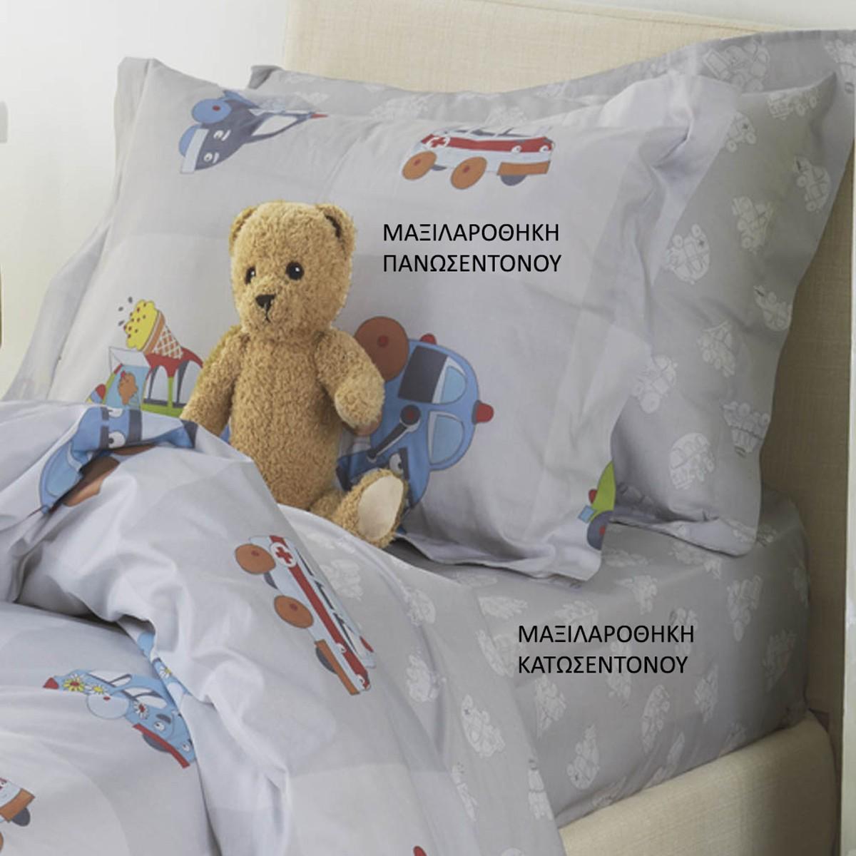 Μαξιλαροθήκη Kentia Kids Vroom ΜΑΞΙΛΑΡΟΘΗΚΗ ΠΑΝΩΣΕΝΤΟΝΟΥ ΜΑΞΙΛΑΡΟΘΗΚΗ ΠΑΝΩΣΕΝΤΟΝΟΥ