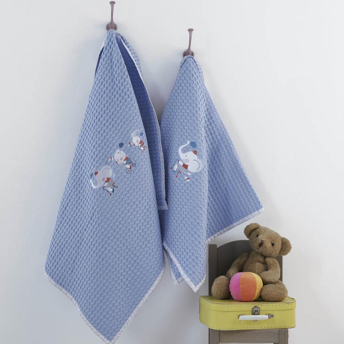 Κουβέρτα Πικέ Αγκαλιάς Kentia Baby Farm home   βρεφικά   κουβέρτες βρεφικές   κουβέρτες καλοκαιρινές