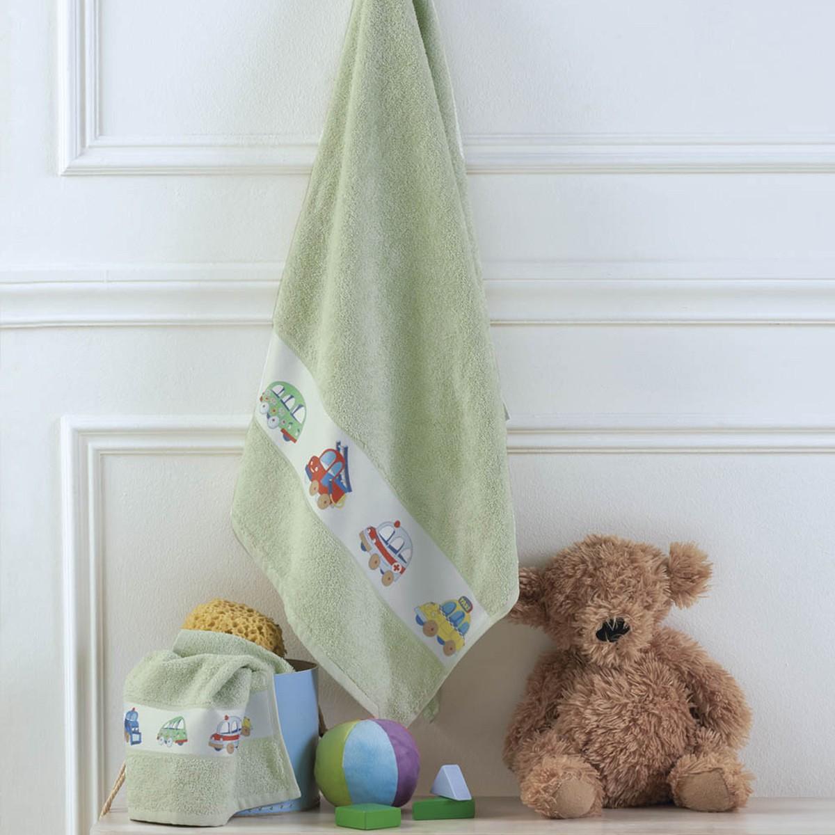 Παιδικές Πετσέτες (Σετ 2τμχ) Kentia Baby Vroom