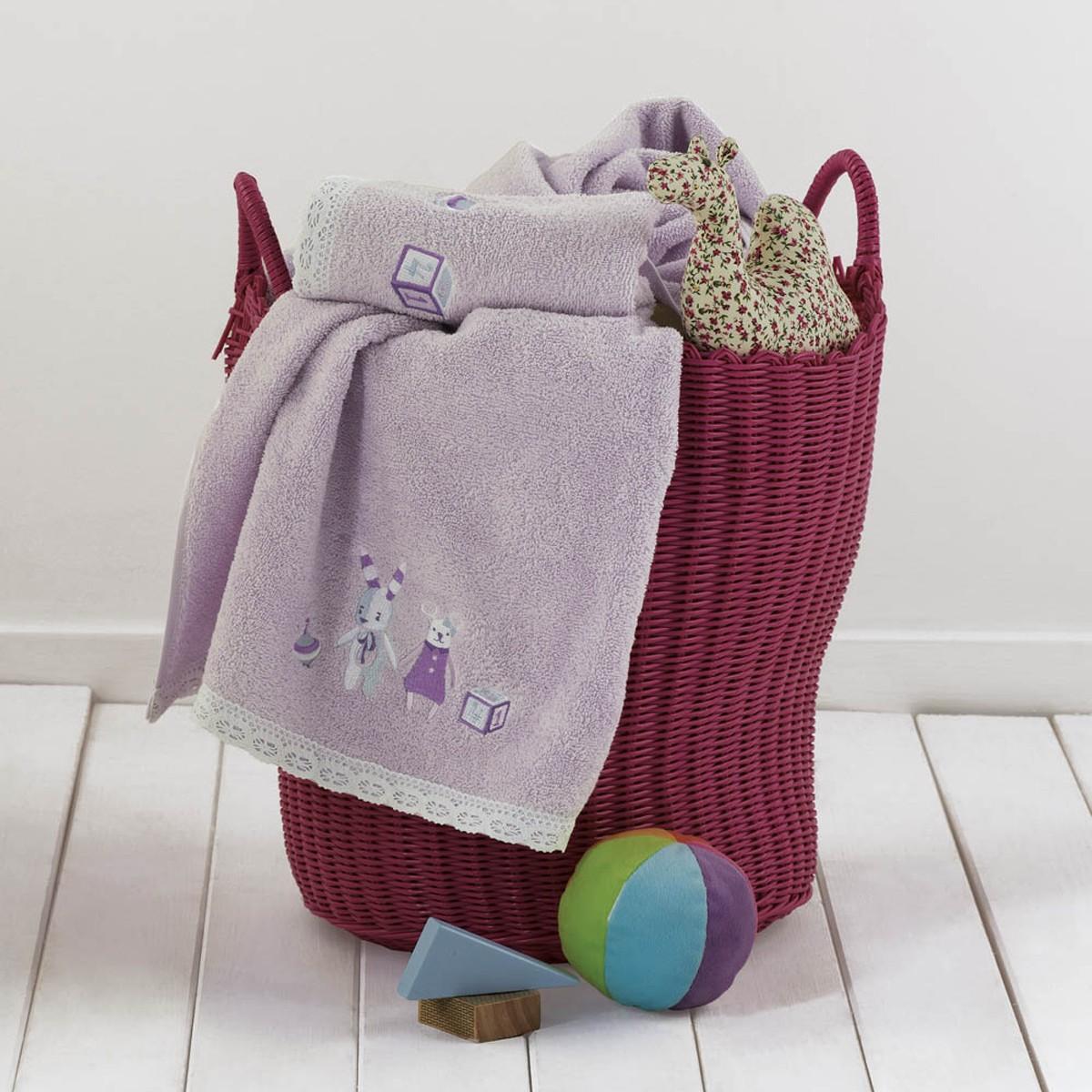 Βρεφικές Πετσέτες (Σετ 2τμχ) Kentia Baby Bambina