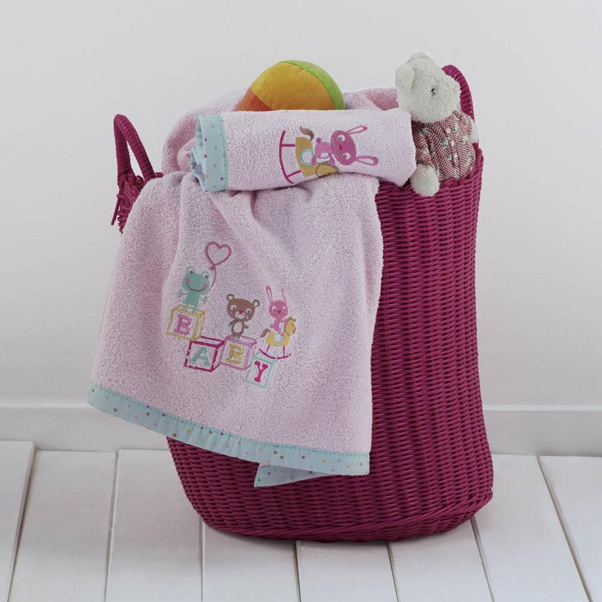 Βρεφικές Πετσέτες (Σετ 2τμχ) Kentia Baby Cube