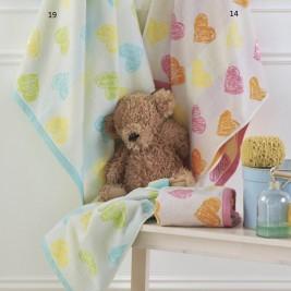 Πετσέτα Προσώπου (50x80) Kentia Baby Hearts