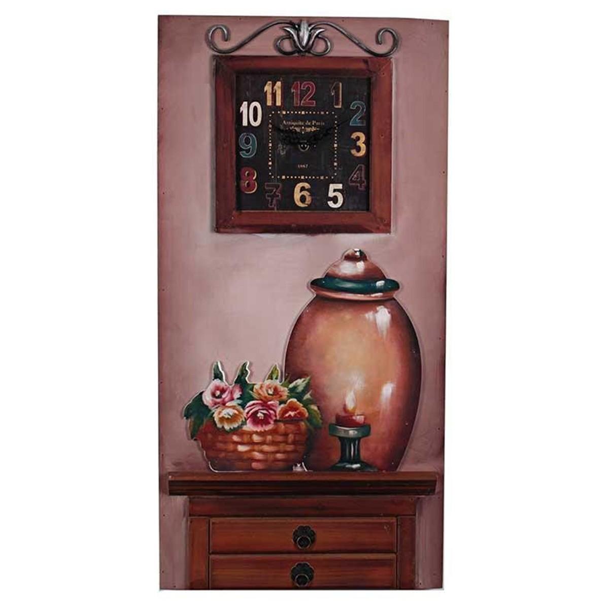 Ρολόι Τοίχου - Πίνακας InArt 3-20-440-0001