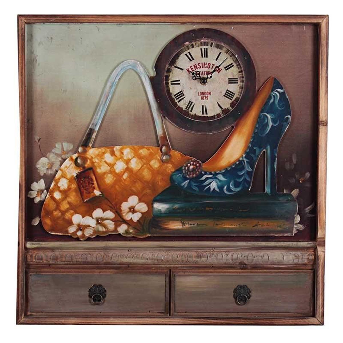 Ρολόι Τοίχου - Πίνακας InArt 3-20-440-0003