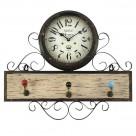 Κρεμάστρα – Ρολόι Τοίχου InArt 3-20-098-0203