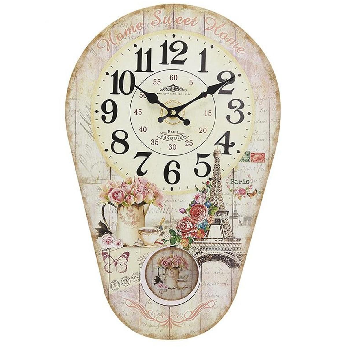Ρολόι Τοίχου Εκκρεμές InArt 3-20-098-0205