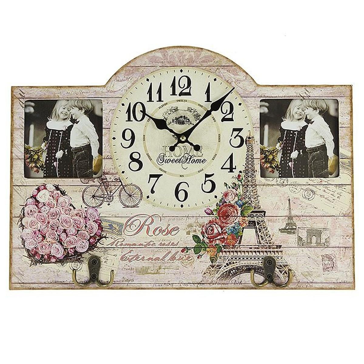 Κρεμάστρα - Ρολόι Τοίχου InArt 3-20-098-0209