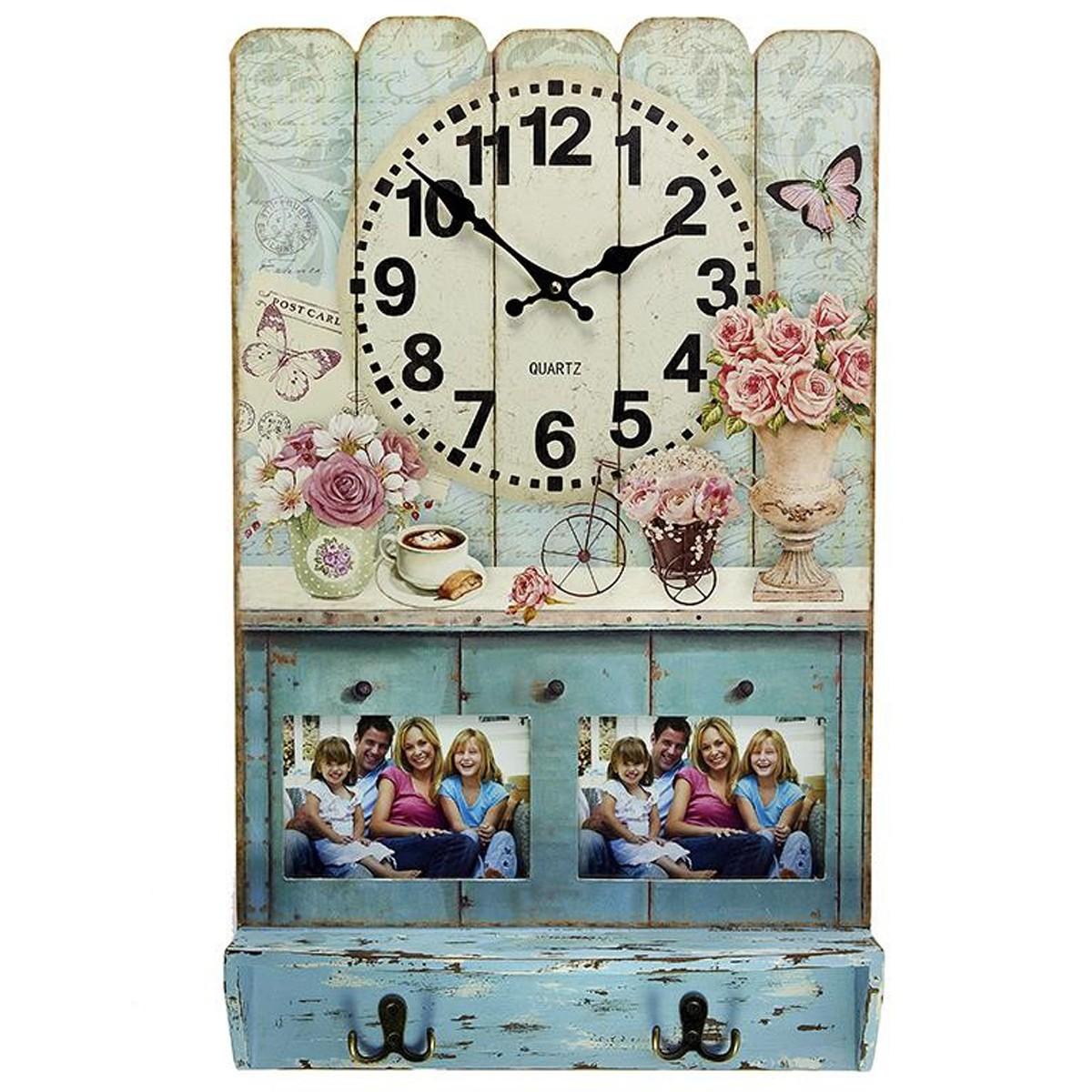 Κρεμάστρα – Ρολόι Τοίχου InArt 3-20-098-0210 66025