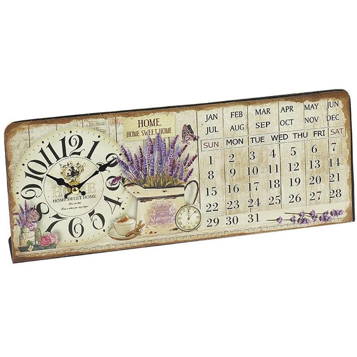 Επιτραπέζιο Ρολόι - Ημερολόγιο InArt 3-20-098-0198