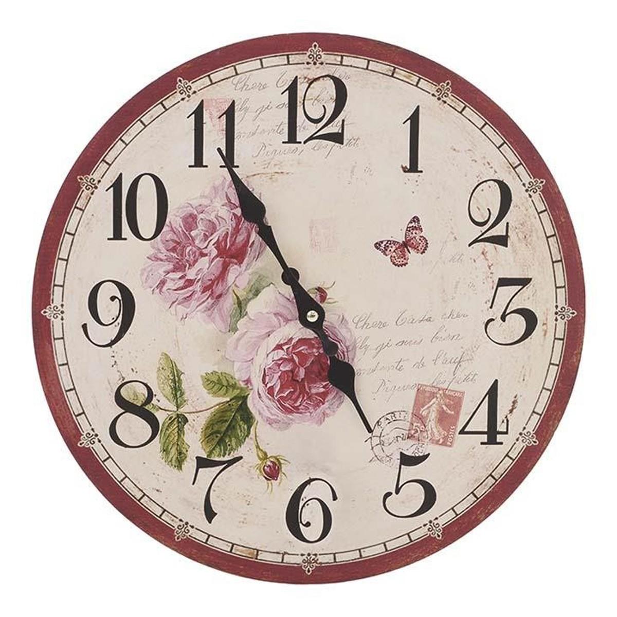 Ρολόι Τοίχου InArt 3-20-484-0380