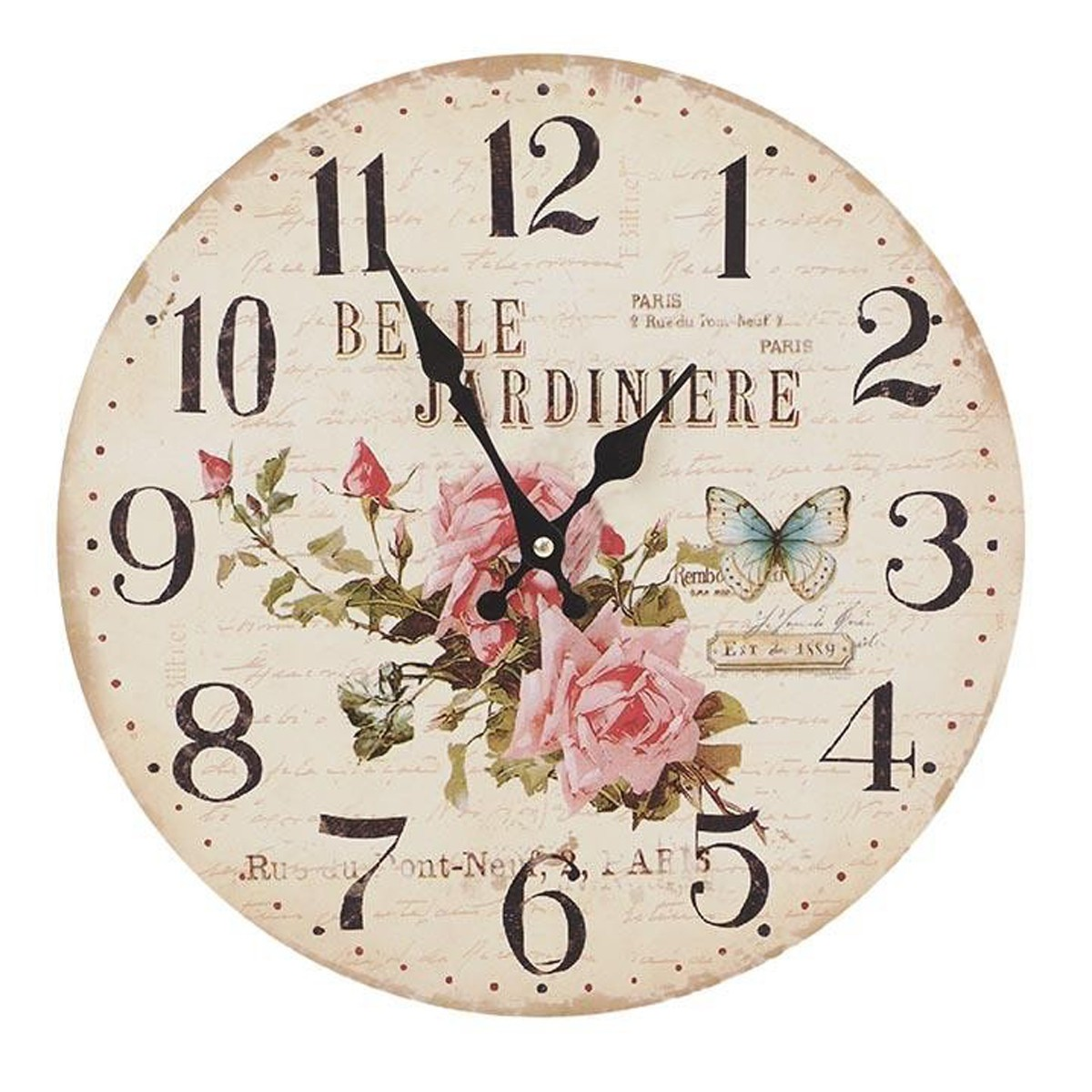 Ρολόι Τοίχου InArt 3-20-484-0383 home   διακόσμηση   ρολόγια