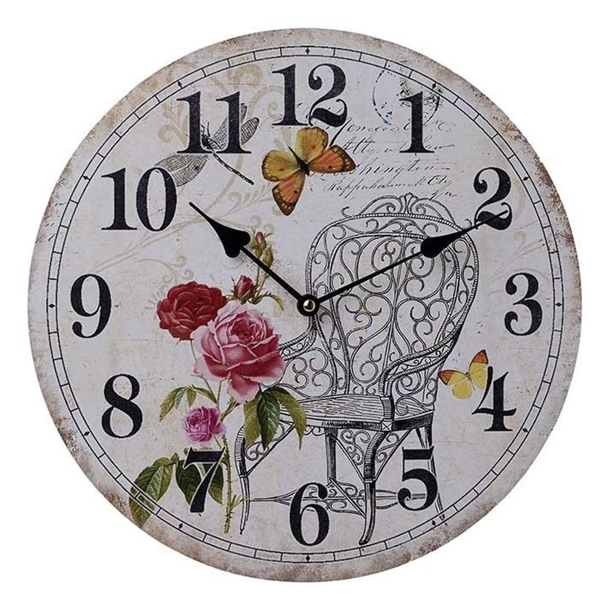 Ρολόι Τοίχου InArt 3-20-098-0246 66083