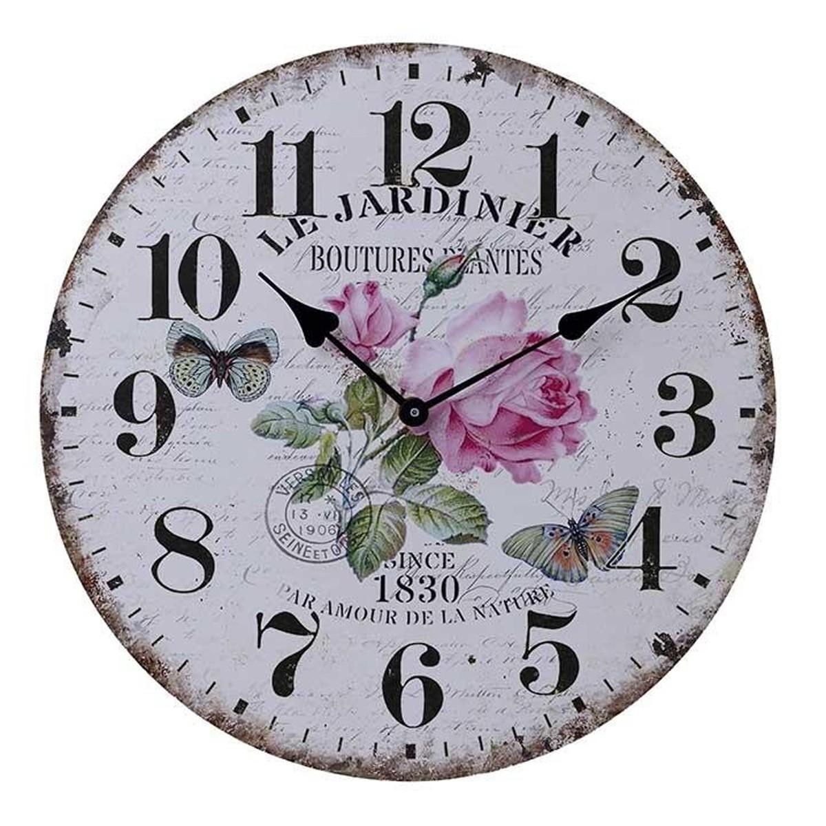 Ρολόι Τοίχου InArt 3-20-098-0248 66085