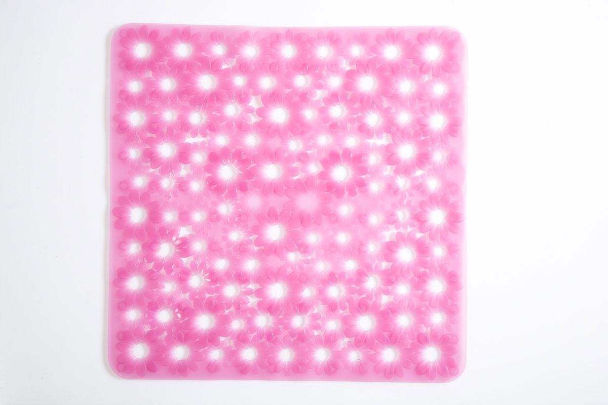 Αντιολισθητικό Πατάκι Ντουζιέρας Octopus Daisy 00278 Ροζ