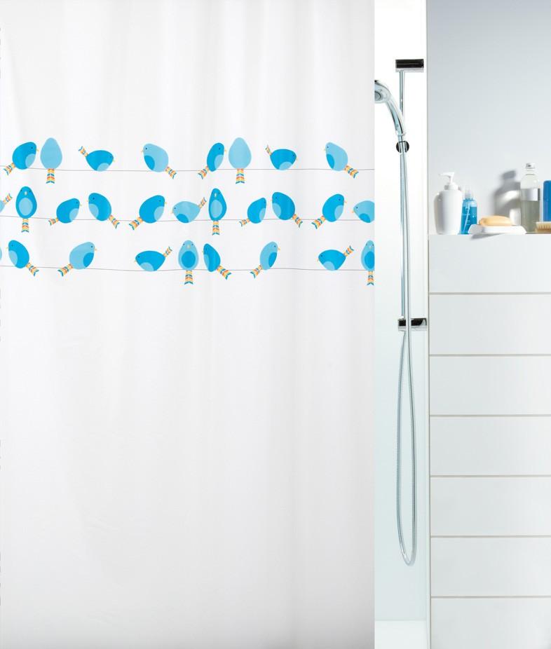 Κουρτίνα Μπάνιου Πλαστική (180x200) Green Style Birdy 00751