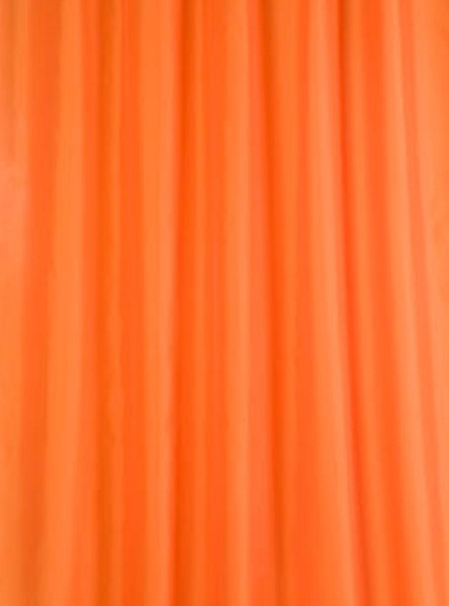 Κουρτίνα Μπάνιου (180x200) Rainbow Colour 02480 Πορτοκαλί