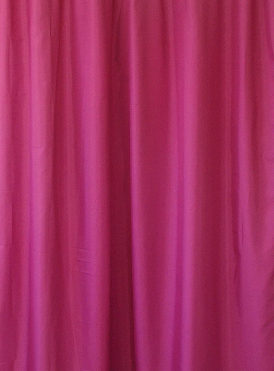 Κουρτίνα Μπάνιου (180x200) Rainbow Colour 02480 Φούξια