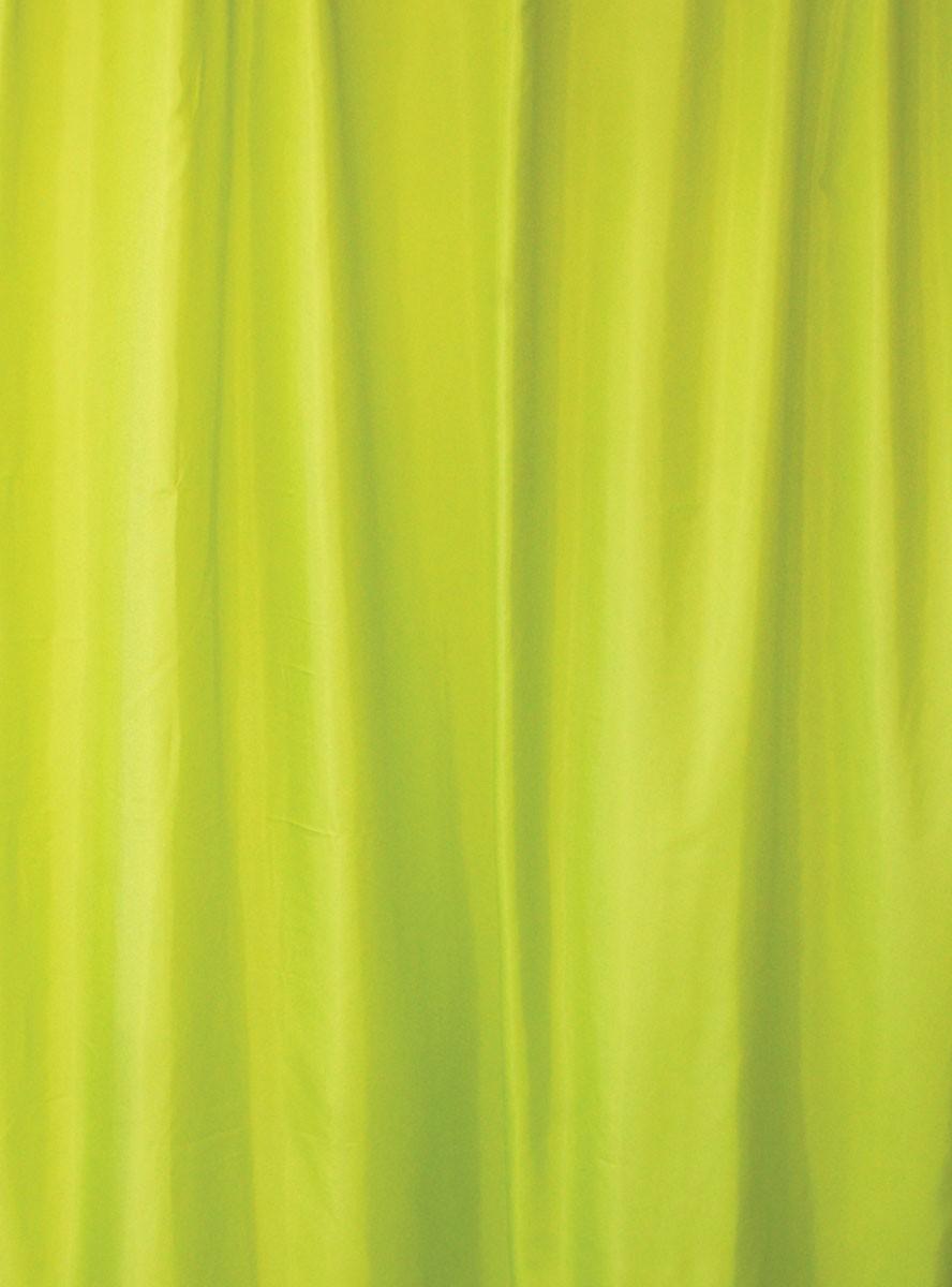 Κουρτίνα Μπάνιου Υφασμάτινη Rainbow Colour 02480 Λαχανί