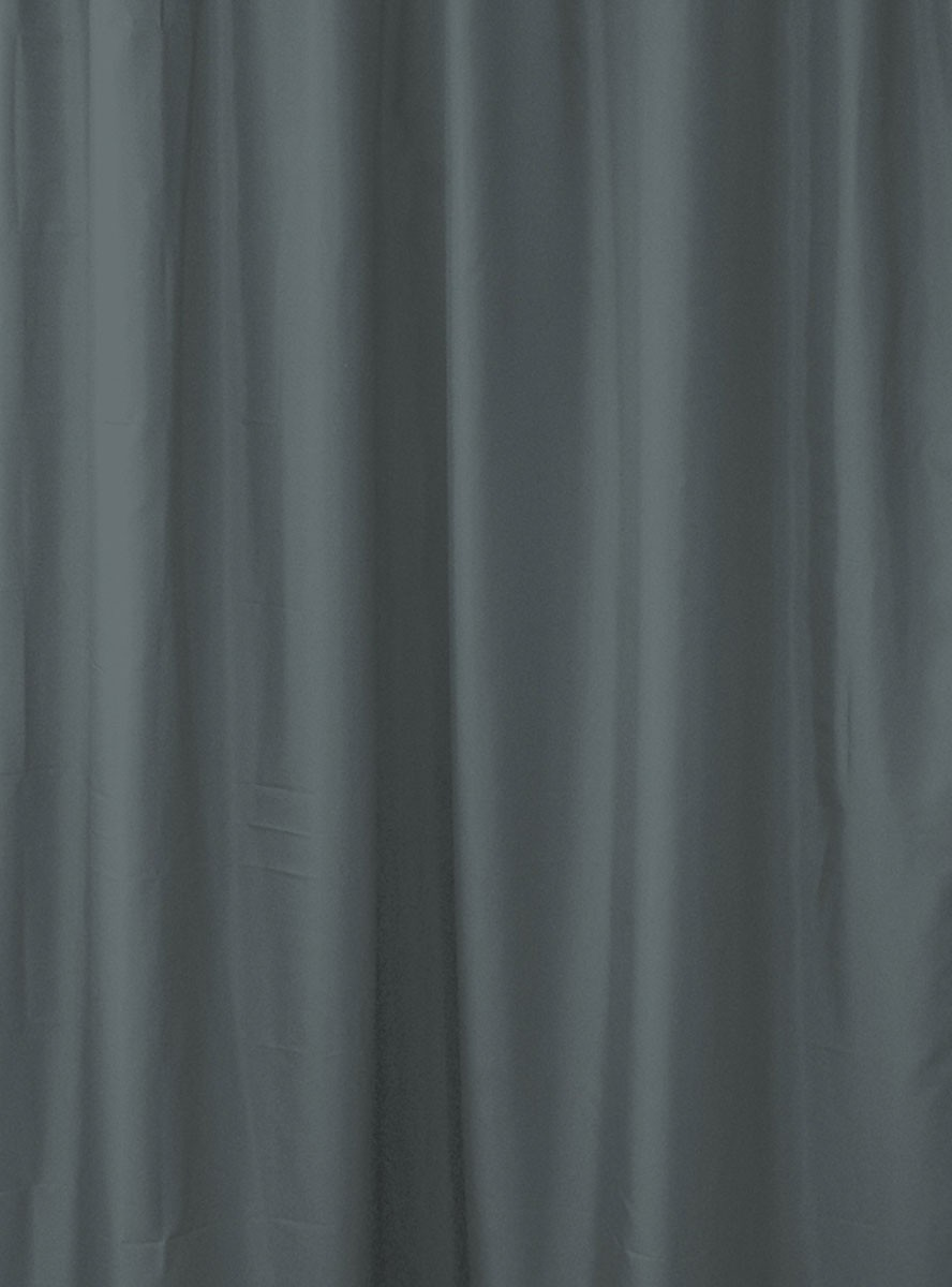 Κουρτίνα Μπάνιου Υφασμάτινη Rainbow Colour 02480 Ανθρακί