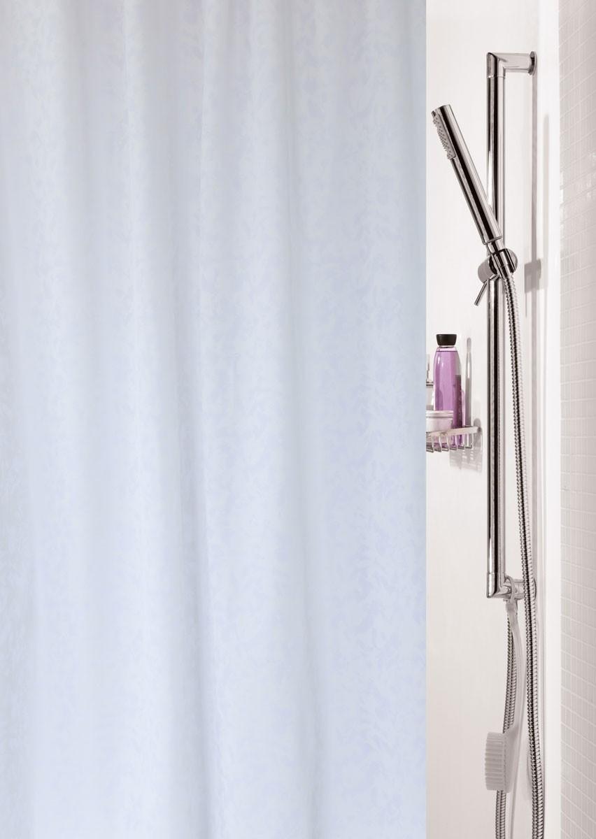 Κουρτίνα Μπάνιου (180x200) Rainbow Fino 02018 Λευκό