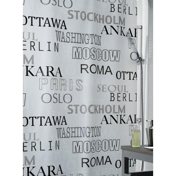 Κουρτίνα Μπάνιου Πλαστική (180x200) Green Style 00824.001 Citta