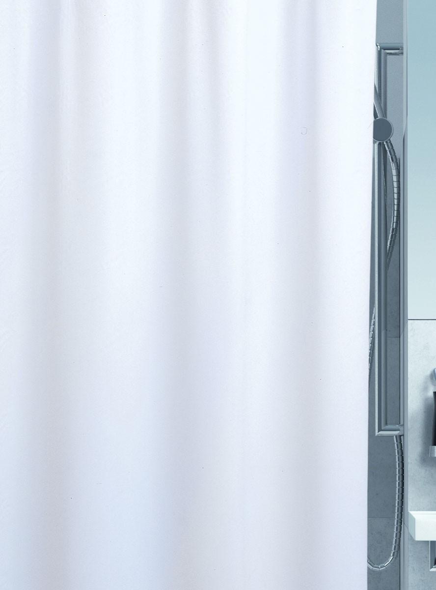 Κουρτίνα Μπάνιου Πλαστική Green Style Orient Silk 00905 Λευκό