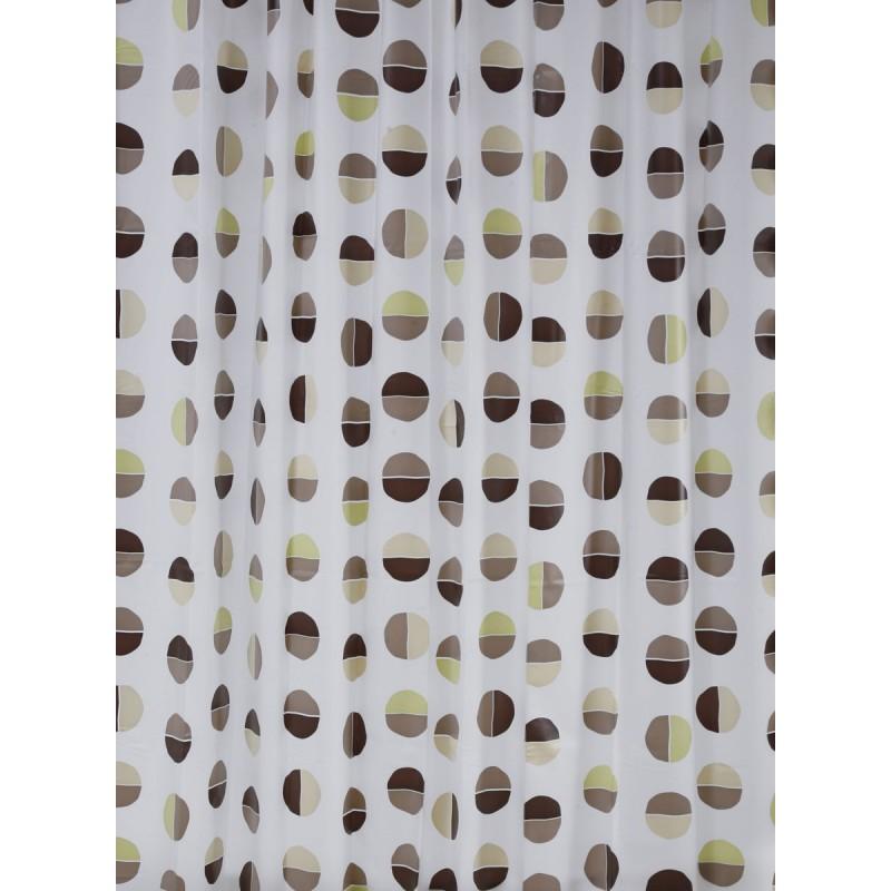 Κουρτίνα Μπάνιου Πλαστική LifeStyle 00845.001 Diviso
