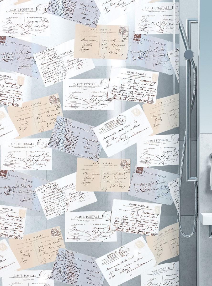 Κουρτίνα Μπάνιου Πλαστική Green Style Carta 00738
