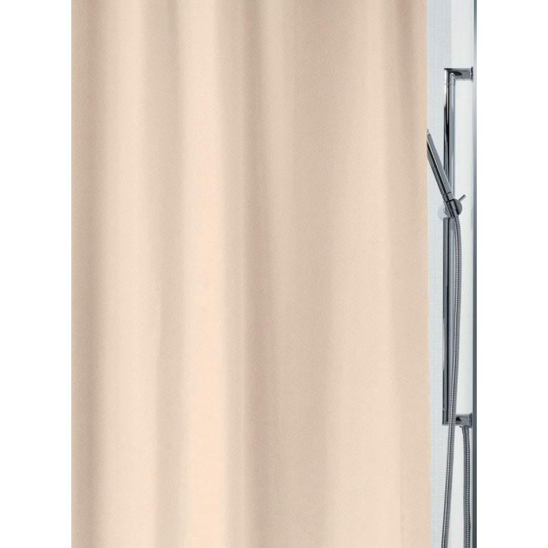 Κουρτίνα Μπάνιου (180x200) Rainbow Plain 02325 Εκρού