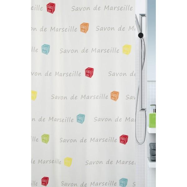 Κουρτίνα Μπάνιου (180x200) Spirella 02406.001 Canebiere
