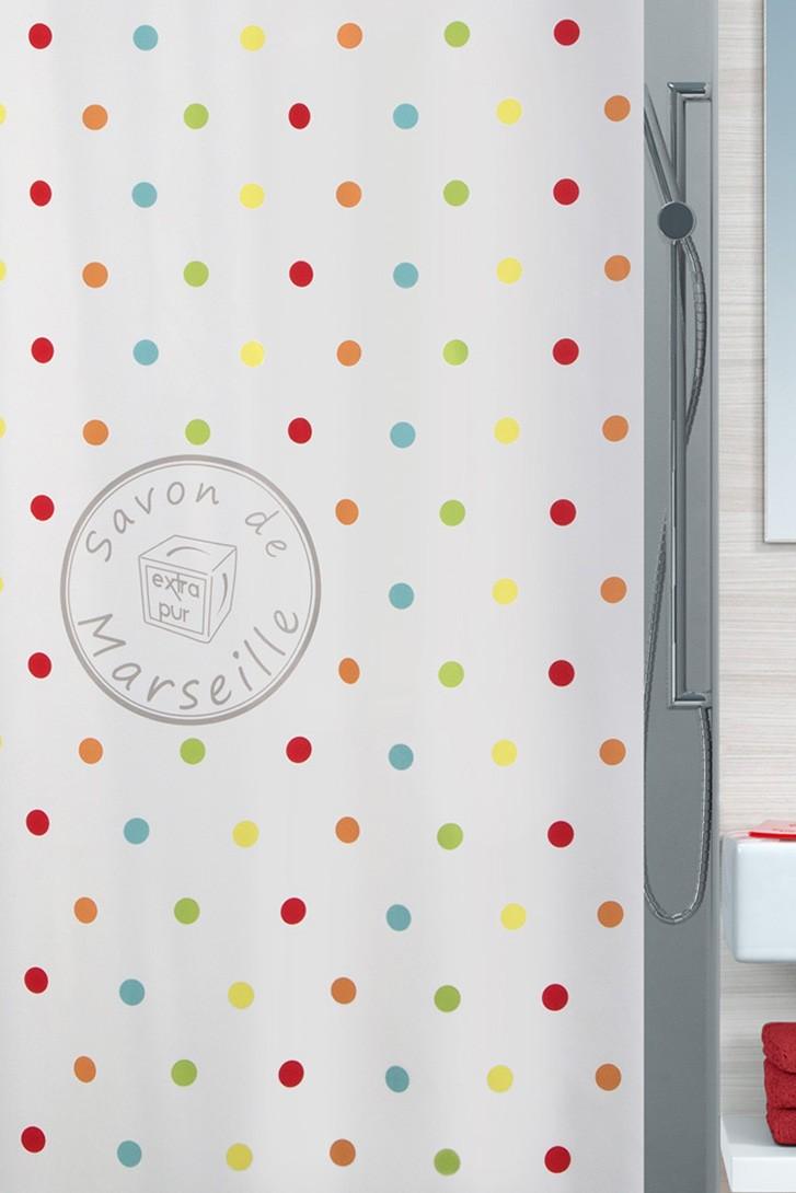 Κουρτίνα Μπάνιου (180×200) Spirella Frioul 02403
