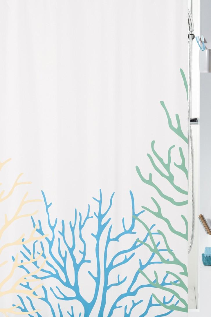 Κουρτίνα Μπάνιου (180x200) Rainbow Coral 02022