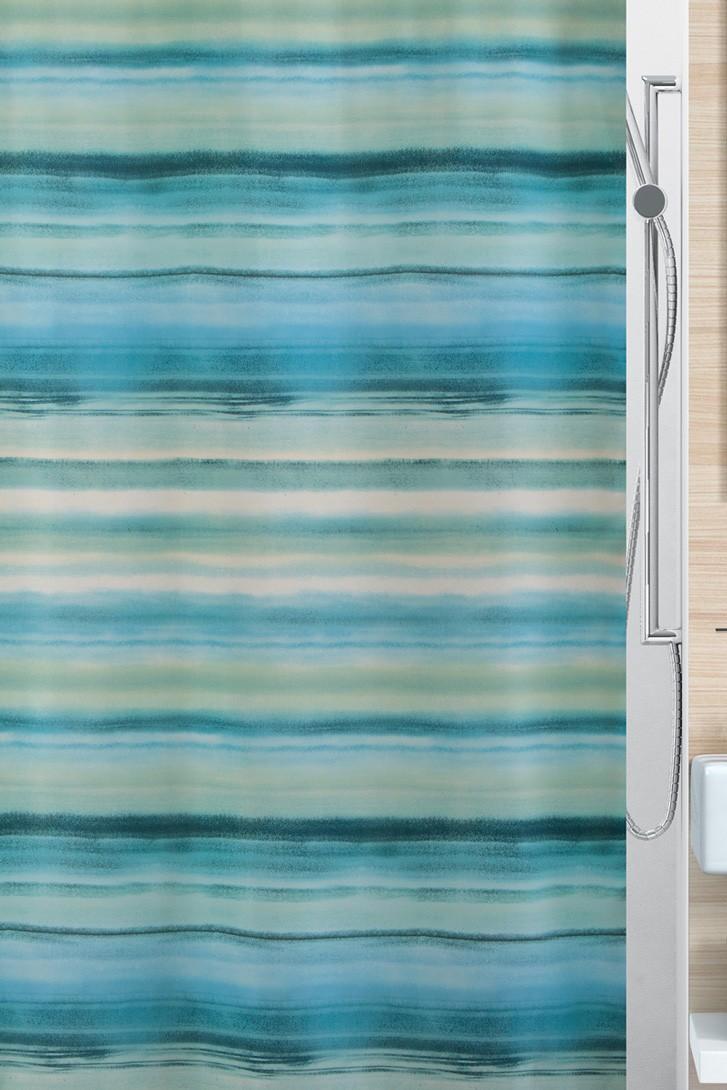 Κουρτίνα Μπάνιου (180x200) Rainbow Ocean 02066